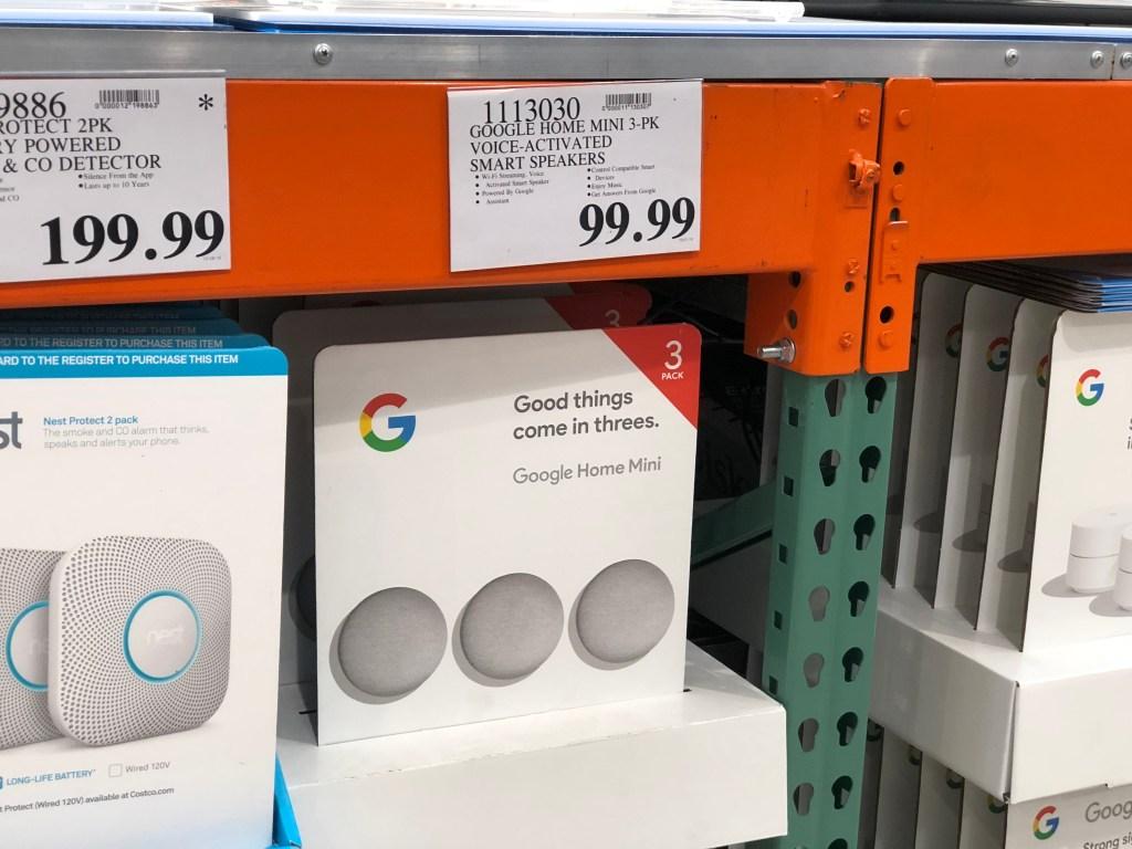 Google Home Mini at Costco