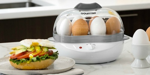 Amazon: Gourmia Electric Egg Cooker Only $15.99 Shipped (Cooks 6 Eggs at Once)