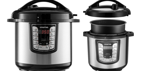 Best Buy: Gourmia 6-Quart Pressure Cooker Only $39.99 Shipped (Regularly $80)