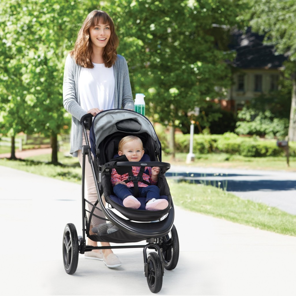 Graco Modes 3 Essentials LX Travel System - Palmer Color