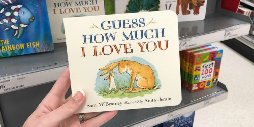 Guess How Much I Love You Board Book Only $3.35 w/ Free Target In-Store Pickup