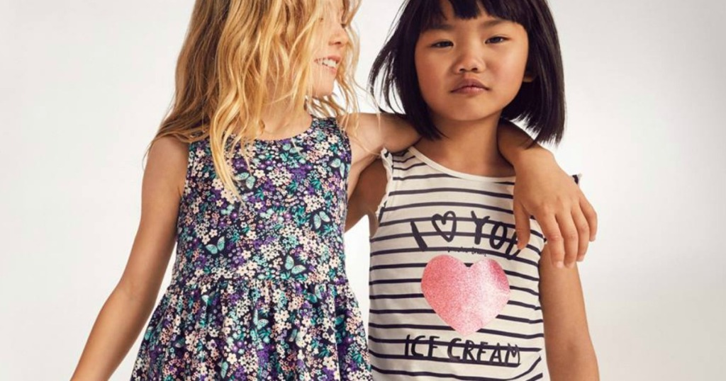 c6aebe9dae8ae 30% Off + Free Shipping at H&M = Girls Dresses as Low as $2.09 ...