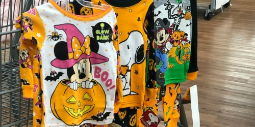Halloween Kids Pajamas and Tops as Low as 50¢ at Walmart