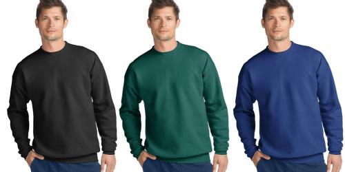 Amazon: Hanes Men's Ecosmart Fleece Sweatshirt as Low as Only $6.77 Shipped (Regularly $20)