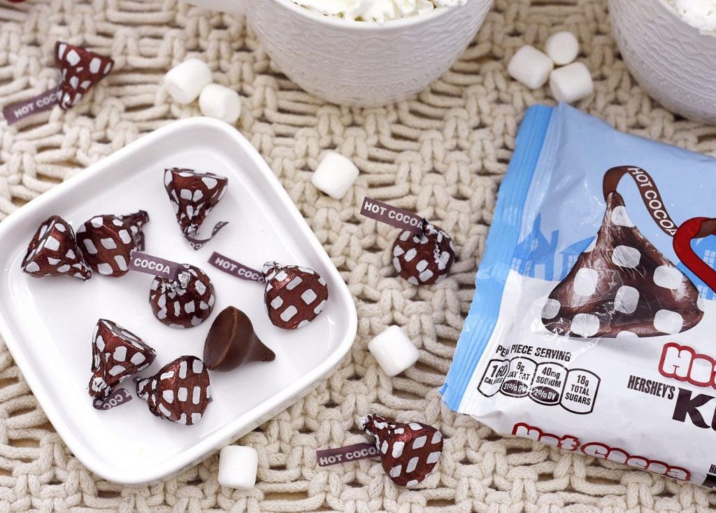 Hershey's Hot Cocoa Kisses Candy