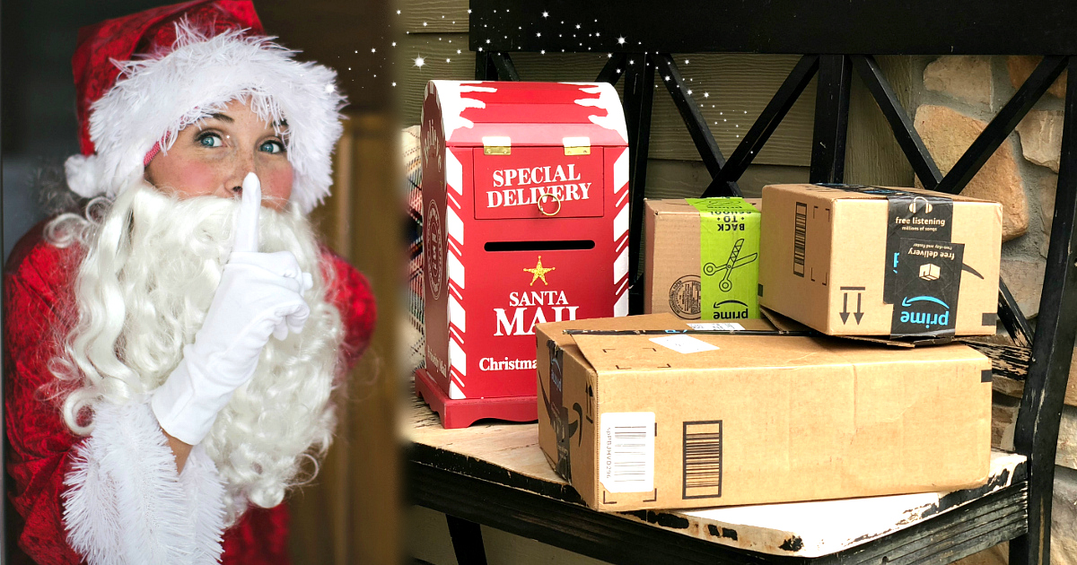 black friday 2018 giveaway amazon – Collin dressed as Santa