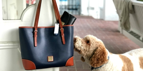 Last Chance! Enter to Win a Dooney & Bourke Tote AND Clutch ($350+ Value)