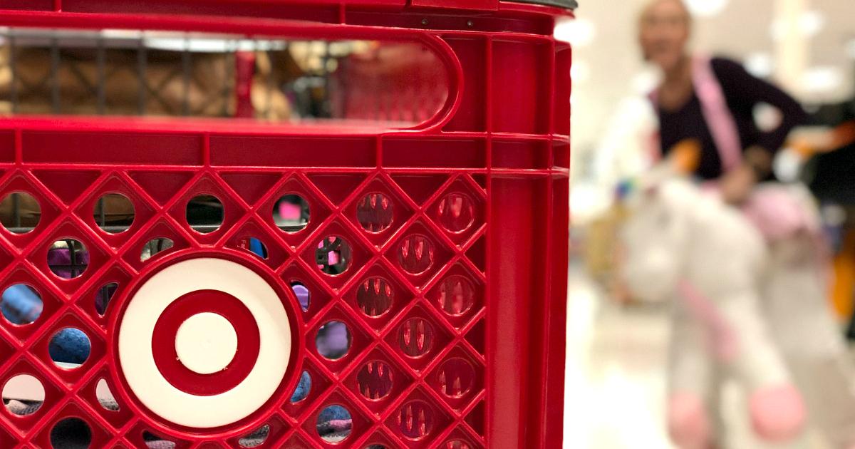 10 best 2018 target black friday deals – closeup of a Target cart
