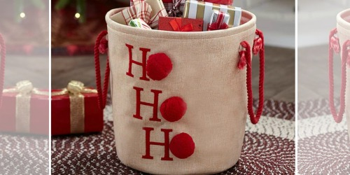 Ho Ho Ho Storage Bin Just $13.98 Shipped + More Holiday Deals