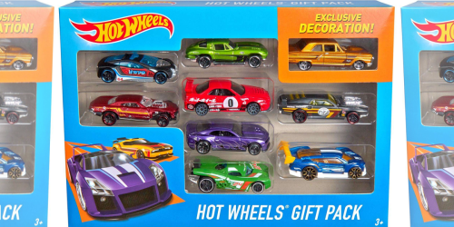 Amazon: Hot Wheels 9-Car Gift Pack Only $5.97 Shipped