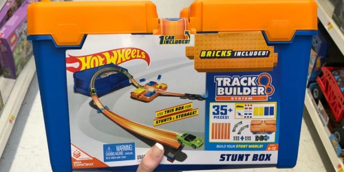 Hot Wheels Track Builder Stunt Box Just $12.97 Shipped (Regularly $20)