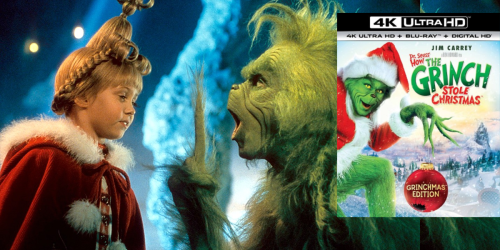 Dr. Seuss' How The Grinch Stole Christmas 4K Ultra HD Blu-ray Combo Just $9.99 Shipped (Regularly $20)
