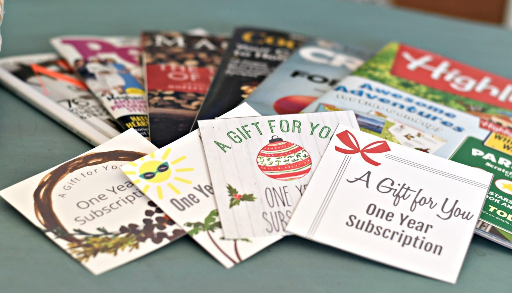 How to Gift a Magazine Subscription