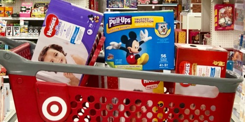 Huggies Diapers Super Packs as Low as $13 Each After Target Gift Card + More