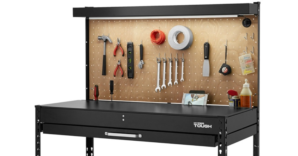 Amazing Hyper Tough Easy Assembly Workbench Just 49 At Walmart Com Gmtry Best Dining Table And Chair Ideas Images Gmtryco