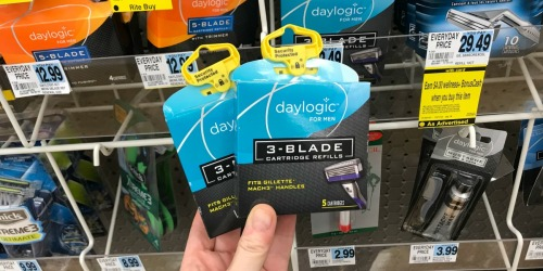 FREE Daylogic Razor Cartridges, Discounted Gift Cards & More at Rite Aid (Starting 12/2)