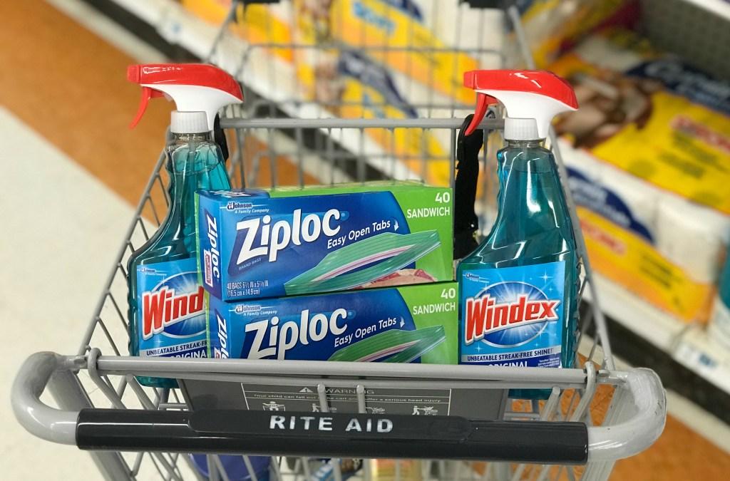 Rite Aid Ziploc Windex
