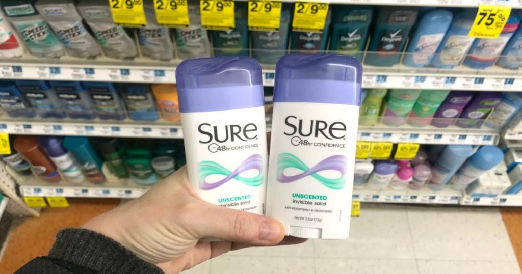 Rite Aid Sure Deodorant Brut
