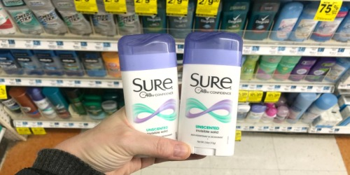 Sure Deodorant Only 49¢, Discounted Gift Cards & More at Rite Aid (Starting 11/11)