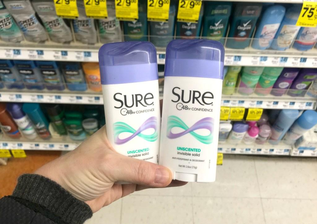 Rite Aid Sure Deodorant