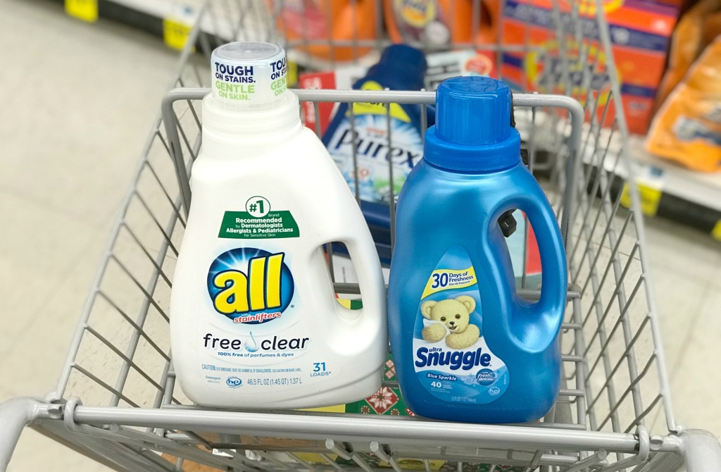 Rite Aid All Detergent Snuggle Fabric Softener