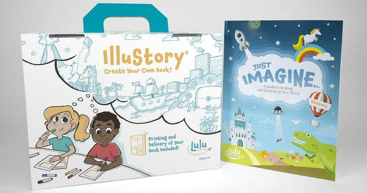 50% Off Lulu Jr. Illustration Kits On Zulily (Kids Create AND Illustrate Their Own Book)