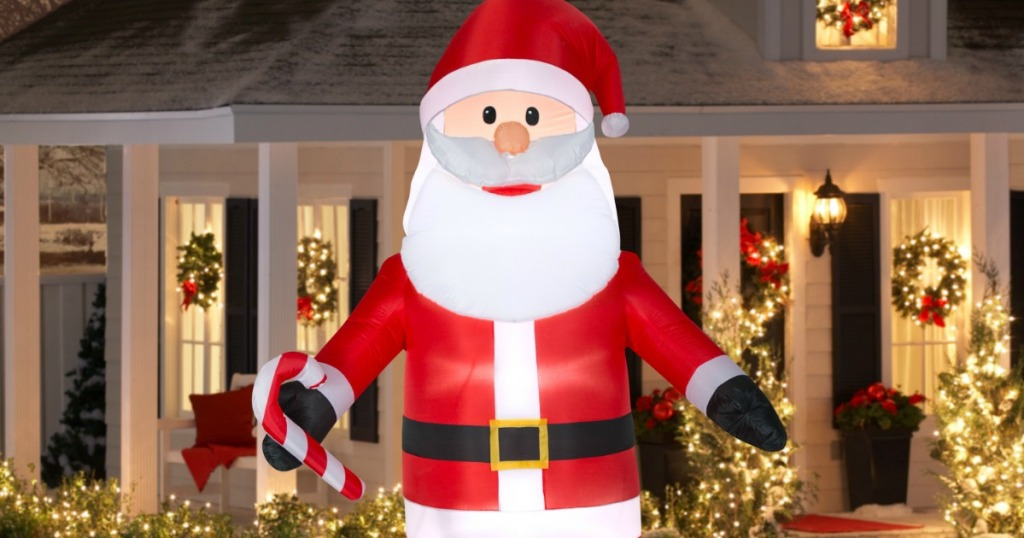hop on over to walmartcom where you can snag this santa claus or snowman jumbo airblown inflatable for just 29 regularly 6999 black friday pricing