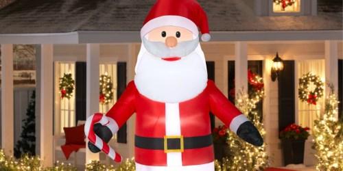 HUGE Inflatable 9′ Santa or Snowman Just $29 (Regularly $70) at Walmart.com