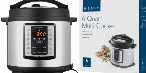 Insignia 6-Quart Pressure Cooker Only $39.99 Shipped (Regularly $100)
