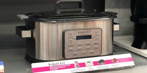 Instant Pot Gem 6 Quart 8-in-1 Programmable Multicooker $55 Shipped