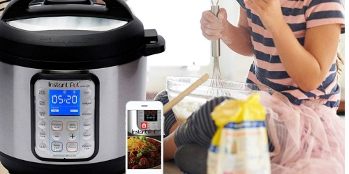 Amazon: Instant Pot Smart WiFi 6-Quart Pressure Cooker Only $89.95 Shipped (Regularly $150)