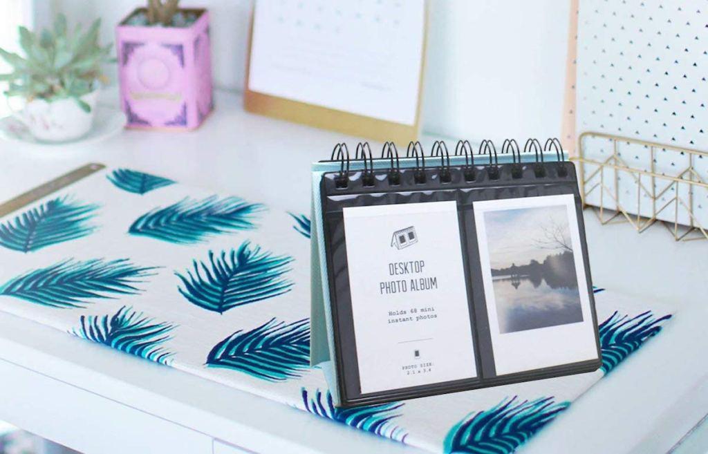 Instax polaroid-desktop-photo-album-teen-gift-guide