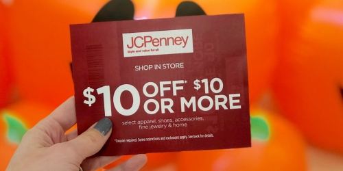 JCPenney Coupon Giveaway: $10, $100 or $500 Off In-Store Purchase Coupon (November 22nd Only)