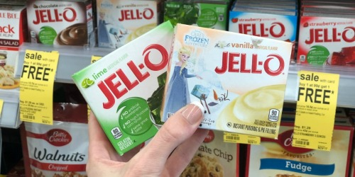 JELL-O Pudding or Gelatin Only 50¢ Per Box at Walgreens (No Coupons Needed)