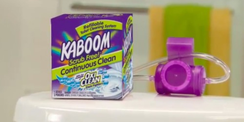 Amazon: Kaboom Scrub Free Toilet Cleaning System Only $3.36 Shipped