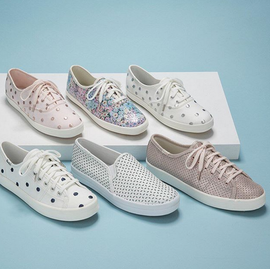 f7627c2e7d22 Keds x Kate Spade New York Champion Dancing Dot  54.95 (regularly  80) Use  promo code CYBERSALE (20% off) Free pair of socks automatically added