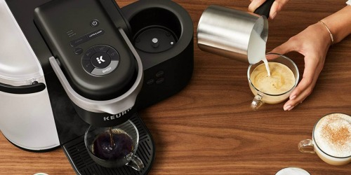 Amazon: Keurig K-Cafe Latte & Cappuccino Maker AND 24 K-Cups Only $114.99 Shipped (Regularly $239)