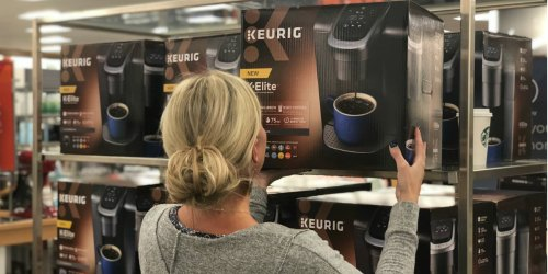 Keurig K-Elite K-Cup Pod Coffee Maker Only $110 Shipped + Earn $30 Kohl's Cash