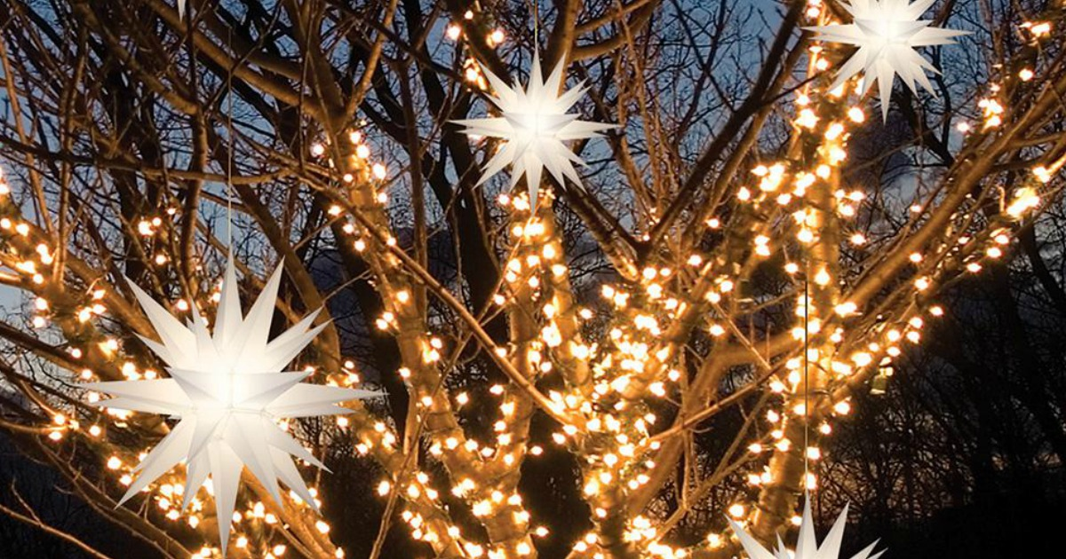 Illuminated Holiday LED Stars 2-Pack Only $34.99 Shipped (Just $17.49 Each) & More