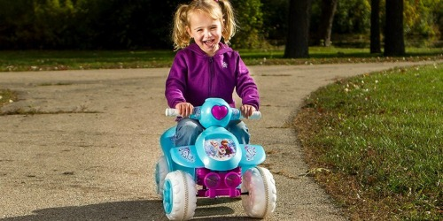 Amazon: Kid Trax Frozen Toddler Quad Ride-On Just $55.99 Shipped + More