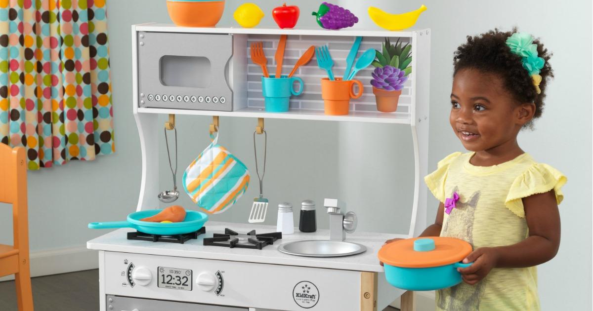 Kidkraft Play Kitchen Only 59 99 Shipped Regularly 90