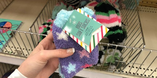 Kids Soft Socks Just $1 at Target Bullseye's Playground (Cozy Stocking Stuffer Or Donation Item)