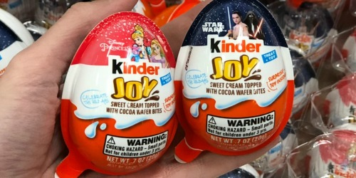 Kinder Joy Eggs Only 75¢ at Target (Great Stocking Stuffer)