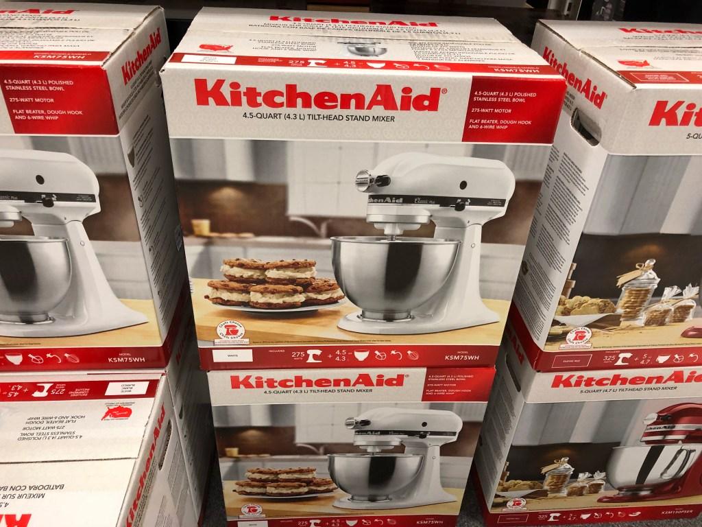 KitchenAid 4.5-quart stand mixer