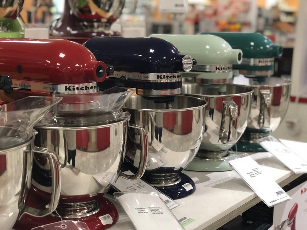 KitchenAid 5-quart Artisand stand mixer