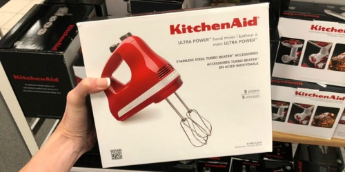 KitchenAid 5-Speed Ultra Power Hand Mixer as Low as $20.99 Shipped at Kohl's (Regularly $70)
