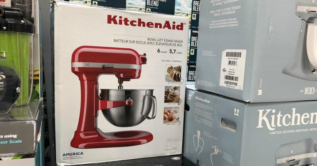 KitchenAid 6-Quart Pro Bowl-Lift Stand Mixer Only $179.99 ...