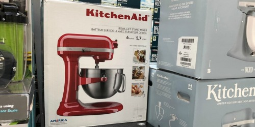KitchenAid 6-Quart Pro Bowl-Lift Stand Mixer Only $179.99 Shipped (Regularly $450) – Refurbished
