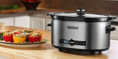KitchenAid 6-Quart Slow Cooker Just $59.99 Shipped on Amazon (Regularly $130)