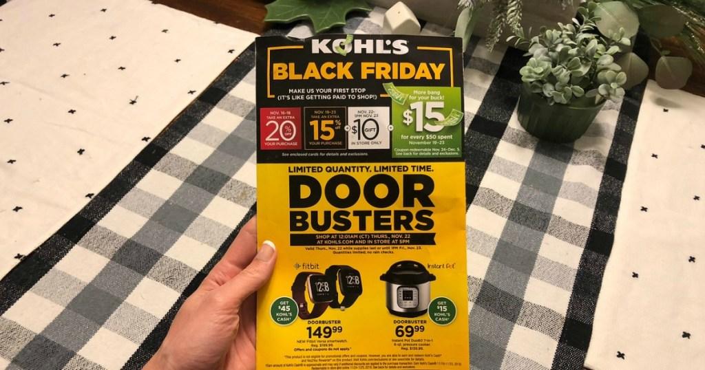 Kohl's Black Friday Doorbusters